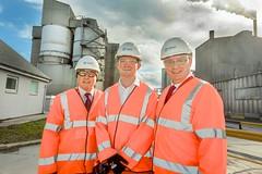 Visiting Dunbar Cement Works