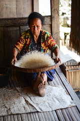 Indonesia | Woman in Bena Village | Explore #428 6 November 2017 (Nicholas Olesen Photography) Tags: indonesia asia flores bena village traditional vertical woman one person rice work agriculture travel nikon d7100