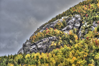 One Adirondack Fall Day 10 - Rock and Ice Climbing Cliffs Above Chapel Pond
