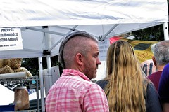 Hampdenfest, Baltimore, 2017 (A CASUAL PHOTGRAPHER) Tags: festivals hampdenfest hampden baltimore maryland hair signs