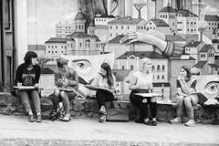Art Girls (tagois) Tags: kiev kyiv ukraine україна київ andriyivskyydescent andrewsdescent андріївськийузвіз podil поділ