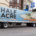 Half Acre Beer Company truck thumbnail