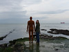 Jane made a new friend 2 (maggie224 -) Tags: jane anthonygormley sea sculpture