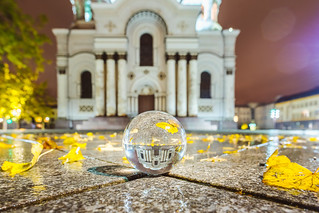 Reflection   #GlassBallProject   Kaunas #287/365
