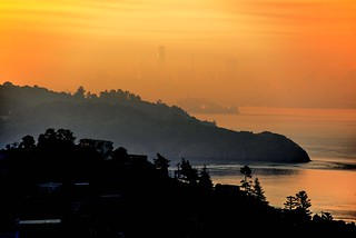 Wildfires Make Smoky Sunrise over San Francisco