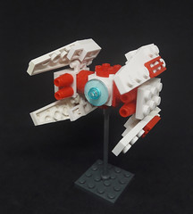 Light Interceptor (Vitor O S Faria) Tags: mfz mf0 mobileframezero ship fighter lego starwars starship