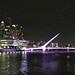 Argentina 2017 10-04 2 Argentina Buenos Aires Puente De La Mujer Night IMG_200028