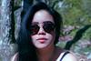 Eva (Claire de La Bernardie) Tags: minolta kodakfilm kodak vintagecolors vintagephotography analog chalaux bourgogne portrait girlportrait girl sunglasses womenportrait filmis filmisnotdead ishootfilm filmpho filmphotography 200iso blue