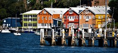 waterview wharf (sabinakurt62) Tags: water boat building architecture colors waterview wharf beautiful art workshop nikon sydney australia