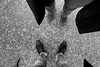 Très honoré — Bretoncelles, Orne, Basse-Normandie, octobre 2017 (Stéphane Bily) Tags: stéphanebily ja jézabel homme femme man woman pieds feet shoes chaussures goudron sol selfie autoportrait selportrait