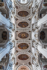 Dom St. Stephan in Passau, Decke Mittelschiff (Peter Goll thx for +6.000.000 views) Tags: 2017 badbirnbach urlaub erlangen germany passau dom church