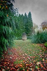 IMG_0618 (bob_rmg) Tags: perrow arboretum tree autumn colour leaves bedale thorp sculpture acorn