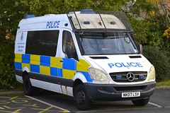 NK07 LSV (S11 AUN) Tags: northumbria police mercedes sprinter psu public order vehicle pov asg area support group van 999 emergency nk07lsv