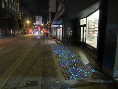 IMG_4697 Glowing sidewalk 438 West Pender (vancouverbyte) Tags: vancouver vancouverbc vancouvercity 438westpender