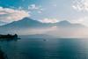 Lago di Como, Italy (no.sad.tomorrow) Tags: lagodicomo italy lombardy comolake domaso water mountains nature landscape landscapes boat calmness peace sky blue traveling analogphotography analog filmphotography film ektar ektar100 praktica mtl50 pentacon