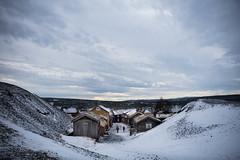 View from the slag heap, Røros (lacafferata) Tags: slag coppermine unescosite woodenbuildings historicpreservation