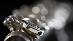 flute bokeh for macro mondays 'musical instrument' (Emma Varley) Tags: macromondays memberschoice musicalinstrument flute bokeh macro silver black light