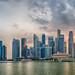 Singapore HDR Sunset