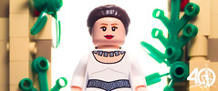 25. MAY THE FORCE BE WITH YOU (kyle.jannin) Tags: lego legostarwars star wars a new hope starwars episode iv leia leiaorgana yaviniv yavin rebel rebelbase base victory ceremony 40 anniversary celebration princess