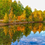 Lake Placid New York  ~ Refection in the  Water thumbnail
