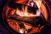 Sunny Hill Resort (Katherine Ridgley) Tags: ontario northernontario madawaskavalley madawaska sunnyhillresort cottage camping summer fire campfire burn burning flame flames wood pit firepit barklake