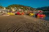 Beach toys.... (Dafydd Penguin) Tags: beach toy car sand summer slide water sea coastal coast harbour port harbor harbourside puerto town fun soller mallorca balearics island nikkor 20mm af f28d nikon df