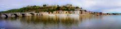 Panorama citadelle de namur (YᗩSᗰIᘉᗴ HᗴᘉS +9 500 000 thx❀) Tags: citadelle citadelledenamur panorama bridge belgium belgique hdr 3exp europa europe hensyasmine