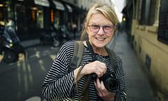 Denise (JoChristo) Tags: portrait stranger paris leica leicaq streetphotography life eyes france woman agirlfromusa photographer