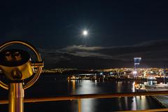 Reykjavik Hafen (jörg opfermann) Tags: ilce 7m2 sony fe 24240 island iceland reykjavik hafen port nachtaufnahme langzeitbelichtung long exposure night kreuzfahrtschiff aida diva cruiseship