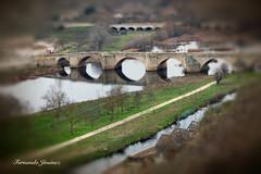 Ciudad Rodrigo (alanchanflor) Tags: canon ciudadrodrigo salamanca españa castilla río puente color