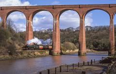 75029 At Larpool Viaduct. 30/03/2008 (briandean2) Tags: 75029 larpoolviaduct northyorkshire uksteam ukrailways steam railways