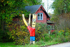 Bart Simpson in Mt. Vernon, Wisconsin (Cragin Spring) Tags: wisconsin wi midwest unitedstates usa unitedstatesofamerica rural house home simpsons tree bartsimpson mtvernon mtvernonwi mtvernonwisconsin
