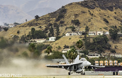 US NAVY F/A-18 (KSBD Photo) Tags: burbank california unitedstates us fanfriday navy fa18 boeing