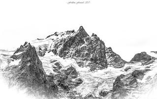 Rock, Ice and Snow (N/B)