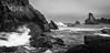 Costa de Liencres (mfiguero9) Tags: liencres cantabrico landscape costa mar sea bw nikon d500