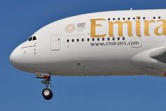EK0001 DXB-LHR (A380spotter) Tags: approach landing arrival finals shortfinals threshold belly undercarriage landinggear nosegear airbus a380 800 msn0222 a6euj expo2020dubaiuaeofficialpremierpartner decal sticker 38m longrangeconfiguration 14f76j427y الإمارات emiratesairline uae ek ek0001 dxblhr runway27r 27r london heathrow egll lhr
