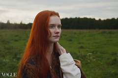 Don't let go (*) your soul (dewframe) Tags: field autumn moods redhead youngwoman