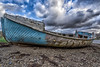 The Old Fishing Boat (mandyhedley) Tags: old sky clouds rust oldmanofskye carbost pepples landscape canon7dii broken rotten wood rowingboat