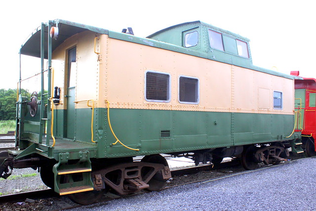 Hagerstown Roundhouse Museum Caboose