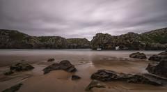 Cuevas del Mar. (Amparo Hervella) Tags: playadelascuevasdelmar asturias españa nube naturaleza color largaexposición d7000 nikon nikond7000