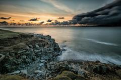 Welsh Coast at Sunset
