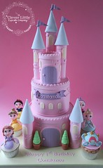 Princess Castle Cake (The Clever Little Cupcake Company) Tags: novelty cakes celebration