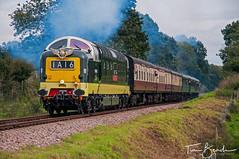 DSC_3986 (Tim Beach) Tags: deltic 40th anniversary gala bluebell railway haywards heath east sussex england uk english electric