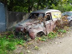 Austin A55 Van (Neil's classics) Tags: vehicle van abandoned austin a55