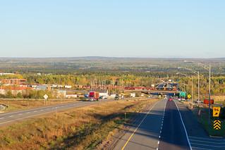 CN 403 @ Rivière-du-Loup, QC