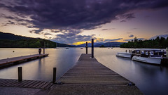 15 second selfie (SpectrumLight) Tags: lake waterscape water landscape dusk twilight purple cloud pier selfie boats le haidaprond1000 fe1635mmf4zaoss sonya7ii ilce7m2 sony nature scenic outdoors lakedistrict england windermere travel ng jetty 10stopnd bownessonwindermere cumbria explore