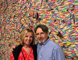 Joyce and Ricardo Gonzalez at the opening of the all new The Bass
