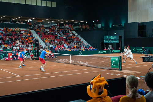 Davis Cup Tennis: Haase + Middelkoop v. Jebavy + Pavlasek