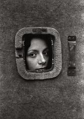 * * * (burnmyshadow) Tags: pentaxmesuper smcpentaxm50mmf17 portrait bw monochrome film dark agfaagfapanapx100