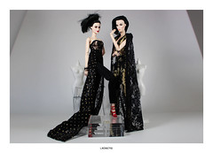 Haute Couture (L.Royalty55) Tags: fashionroyalty fr2 fr fr3 elisejolie elyse starlet kyorisato shade exclusive convention integritytoys it doll